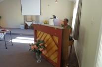 Janice Maitland at the piano