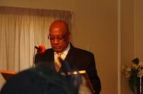 Pastor Ruff preaching
